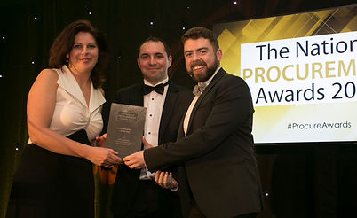 A&L Goodbody & Social Entrepreneurs Ireland Partnership - National Procurement Awards 2017 winner