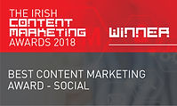 Best Content Marketing Award - Social 2018