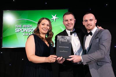 AIB - 2019 Irish Sponsorship Awards winner