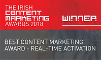 Best Content Marketing Award - Real-Time Activation 2018