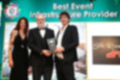 Silk Road Tents - 2019 Event Industry Awards winner