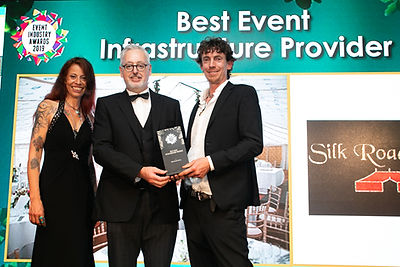 Silk Road Tents - 2019 Event Industry Awards winner