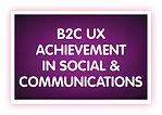 16. B2C UX Achievement in Social & Commu
