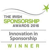 Innovation in Sponsorship 2016 winner logo