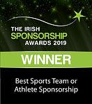 Best Sports Team or Athlete Sponsorship