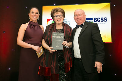 Margot Slattery - Sodexo Ireland - Facilities Management Awards 2018 recipient