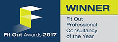 Fit Out Professional Consultancy of the Year 2017 winner logo
