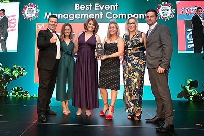 Clive - 2019 Event Industry Awards winner