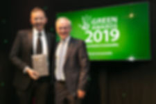Norman Crowley, Crowley Carbon - Green Leader 2019 recipient at the Green Awards