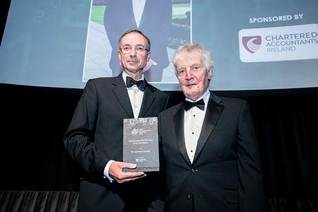Dr. Laurence Crowley - Irish Accountancy Awards 2019 recipient