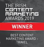 Best Content Marketing Award - Travel