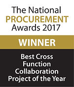 Best Cross Function Collaboration Project of the Year 2017 winer logo