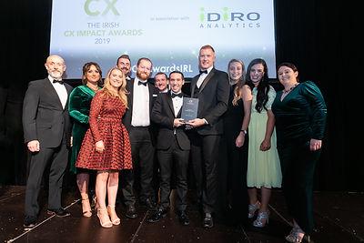 Paddy Power Betfair - 2019 The Irish CX Impact Awards winner