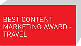 Best Content Marketing Award - Travel
