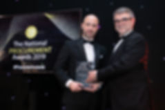 Iarnród Éireann - 2019 The National Procurement Awards winner
