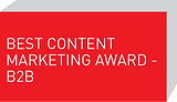 Best Content Marketing Award - B2B