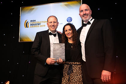 Titan Roofing - 2019 Irish Construction Industry Awards winner