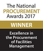 Excellence in the Procurement of Facilities Management 2017 winner logo