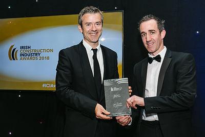 Gavin Wheatley - Irish Construction Awards 2018 winners