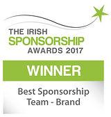 Best Sponsorship Team - Brand winner logo