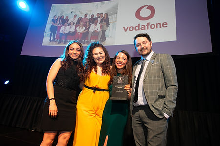 Vodafone Ireland - 2019 HR Award winners
