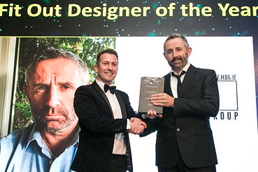 Barry McCabe - McCabe Design Group- Fit Out Awards 2017 winner