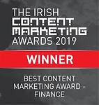 Best Content Marketing Award - Finance