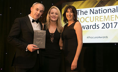 Flying High & Cruising Low With Robots And Drones - Pfizer Grange Castle - National Procurement Awards 2017 winner