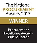 Procurement Excellence Award - Public Sector 2017 winner logo
