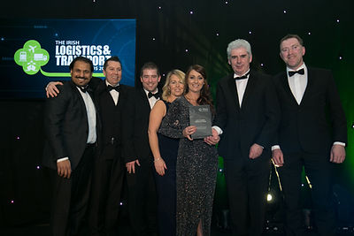 Greyhound Household & Sunrise Innovations - Irish Logistics & Transport Awards 2018