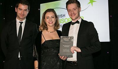 Sure Official Statistics Partner of the GAA - Irish Sponsorship Awards winners 2016