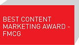 Best Content Marketing Award - FMCG