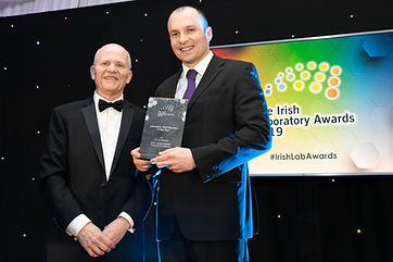 Dr. Luis Padrela - The Irish Laboratory Awards 2019 winner