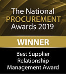 Best Supplier Relationship Management Award