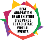 Best Adaptation of an Existing Live Venue to Facilitate Virtual Events