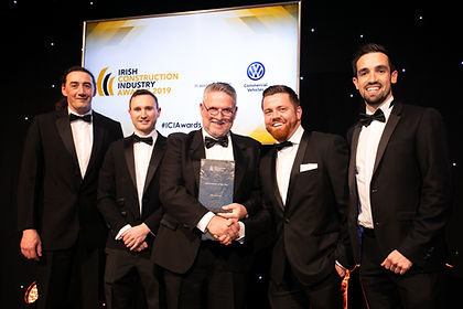 John Sisk & Son - 2019 Irish Construction Industry Awards winner