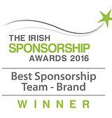 Best Sponsorship Team - Brand 2016 winner logo