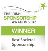 Best Societal Sponsorship winner logo