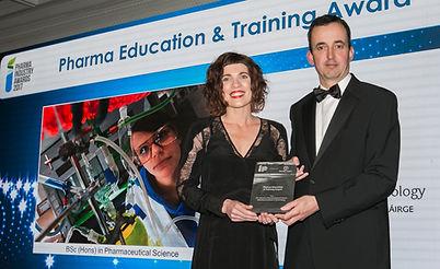 BSc (Hons) in Pharmaceutical Science  - Waterford Institute of Technology - Pharma Industry awards 2017 winner