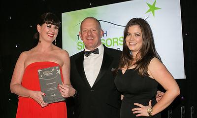 Vodafone Ireland for IRFU #TeamOfUs - Irish Sponsorship Awards winners 2016