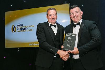 George McKitterick - Irish Construction Awards 2018 winners