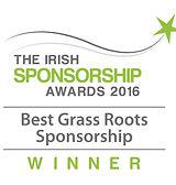Best Grass Roots Sponsorship 2016 winner logo