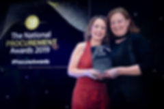 Órla King - 2019 The National Procurement Awards winner