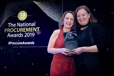 Órla King - 2019 The National Procurement Awards winner