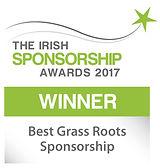 Best Grass Roots Sponsorship winner logo