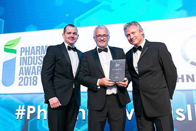 Optel Group - Pharma Industry Awards 2018 winners