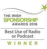 Best Use of Radio or Podcast 2016 winner logo
