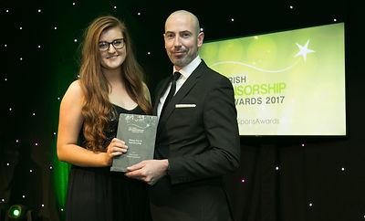 Amy Lynch - Irish Sponsorship Awards winners 2017