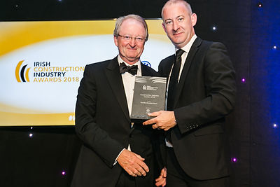 Timothy Bouchier-Hayes - Irish Construction Awards 2018 recipient