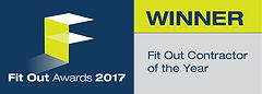 Fit Out Contractor of the Year 2017 winner logo